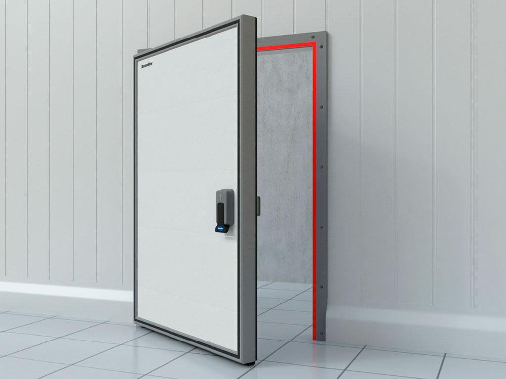 Обогрев периметра рамы для низкотемпературных дверей (опция) ДорХан