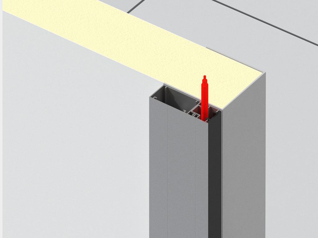 Обогрев периметра рамы для низкотемпературных дверей ДорХан