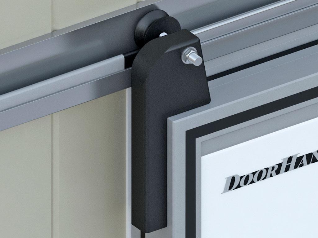 Откатная система для дверей массой до 200 кг.