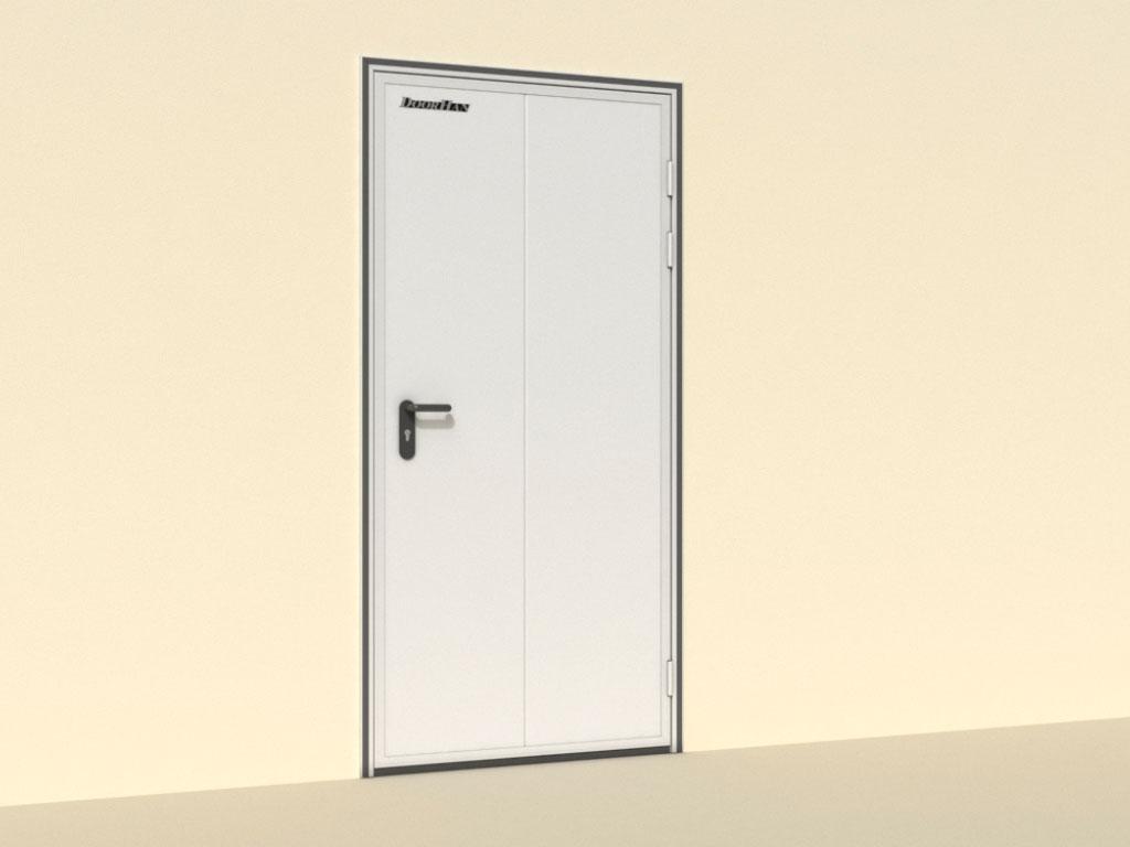 Открытие-вправо-Двери-технологические-одностворчатые ДорХан