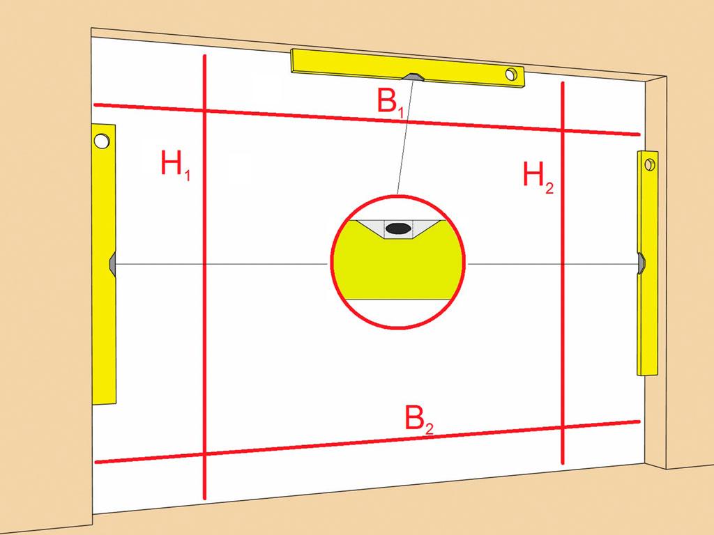 Подготовка-строительного-объекта-Автоматические-раздвижные-двери-DH-DS35-с-приводом-AD-SP ДорХан
