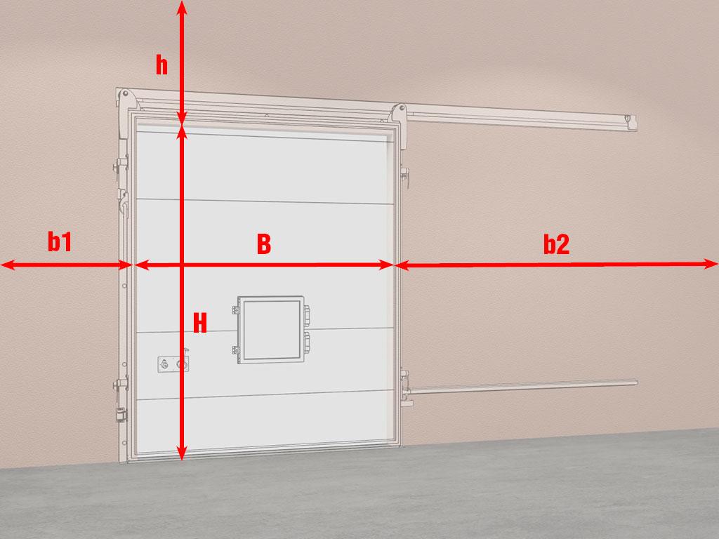 Подготовка-строительного-объекта-Дверь-откатная-для-камер-с-регулируемой-газовой-средой-(РГС) ДорХан