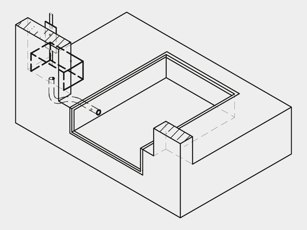 Требования к строительному объекту Подготовка приямка. Приямок для платформы готовится строго в соответствии с чертежами, которые предоставляет изготовитель.
