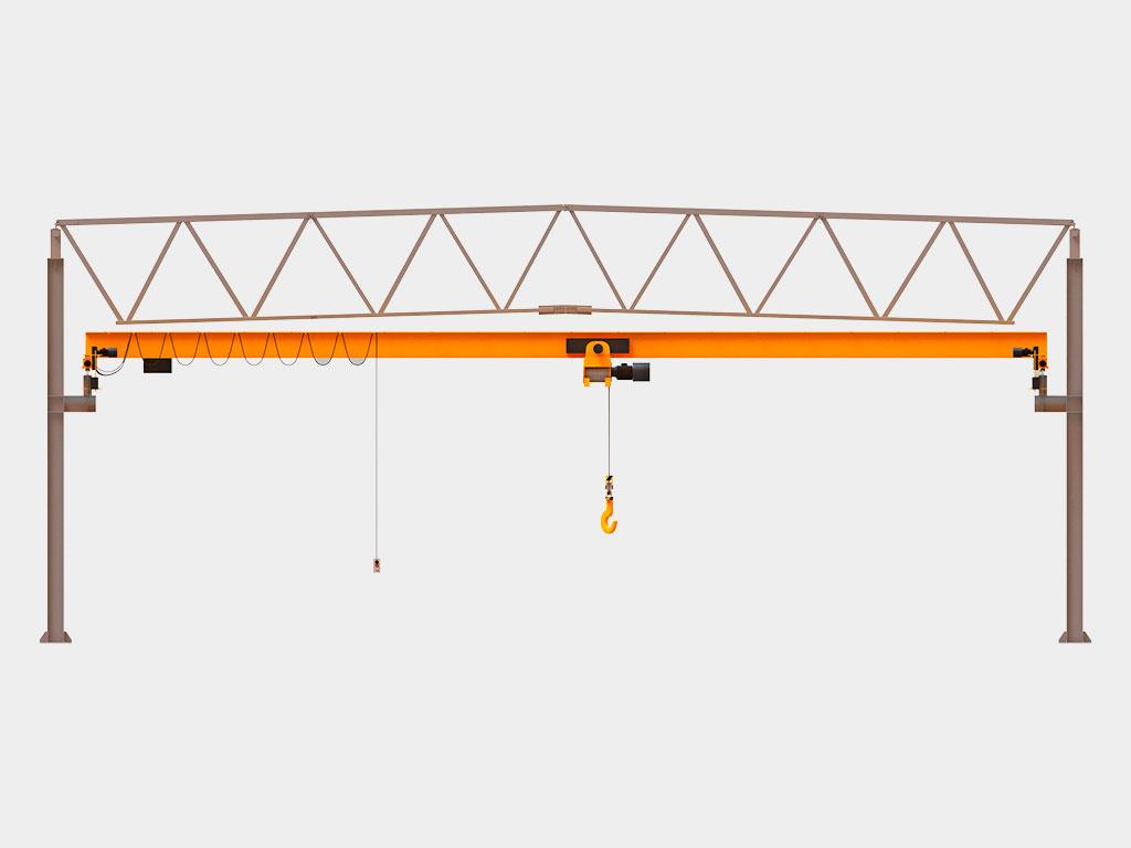 Подкрановые конструкции для мостовых кранов грузоподъемностью до 100 тонн ДорХан