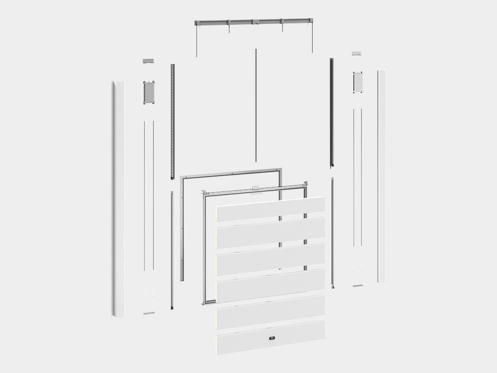 Полная ремонтопригодность: возможность замены любого вышедшего из строя элемента, включая отдельные панели полотна ДорХан