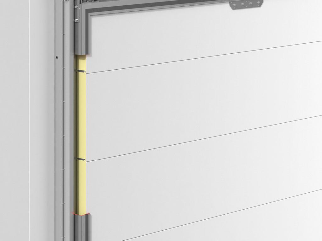 Полотно двери из сэндвич-панелей ДорХан