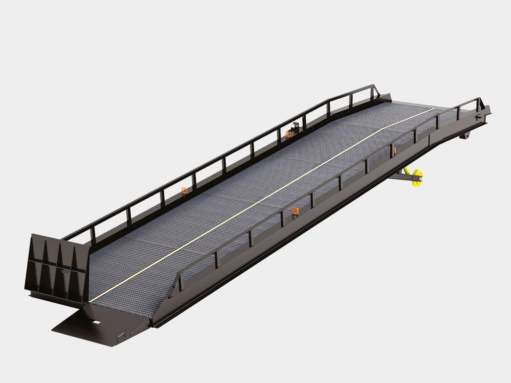 Рампа мобильная с опорой на кузов автомобиля Базовая комплектация ДорХан