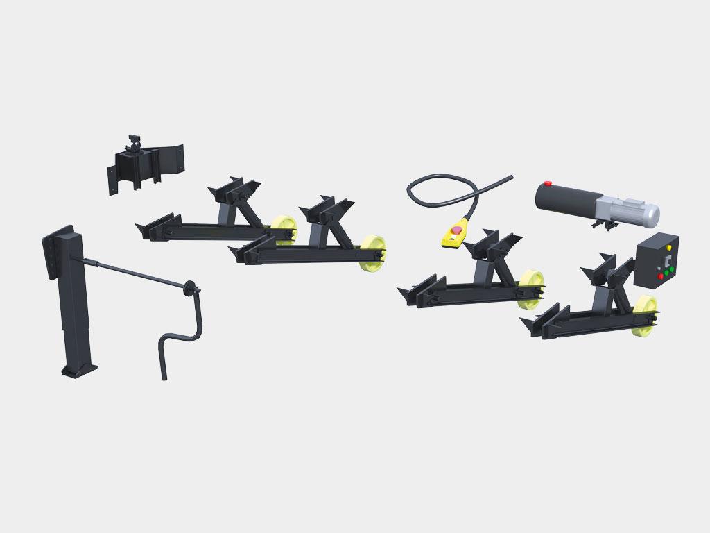 Различные типы приводов, возможность использовать без электропитания ДорХан