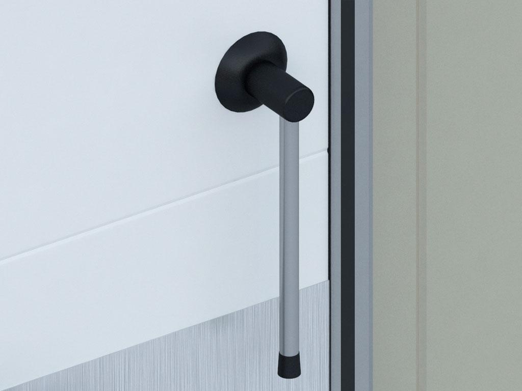 Рычажная ручка для дверей шириной от 1600 мм ДорХан