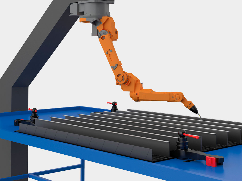 Современное серийное производство, роботизированная сварка ДорХан