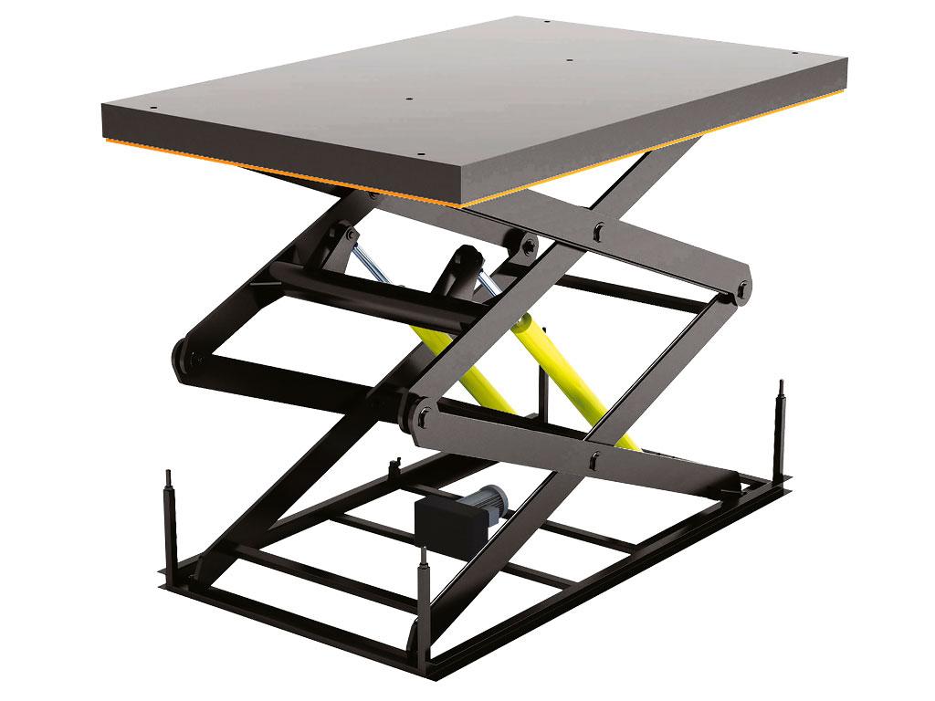 Стол подъемный с двумя парами ножниц серии 2LT дОРхАН