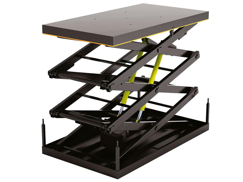Стол подъемный с тремя парами ножниц серии 3LT ДорХан