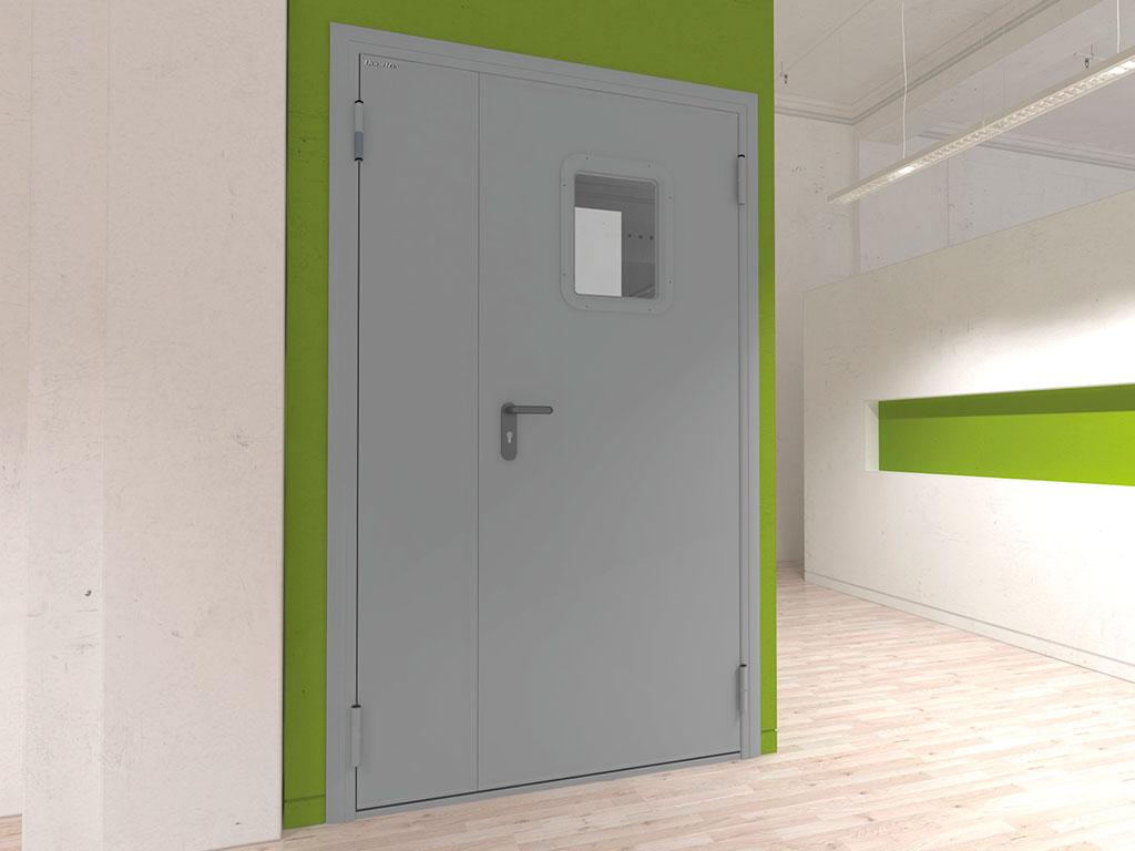 Технические двухстворчатые двери ДорХан