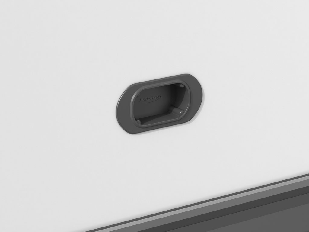 Утапливаемая ручка для открывания и закрывания двери ДорХан