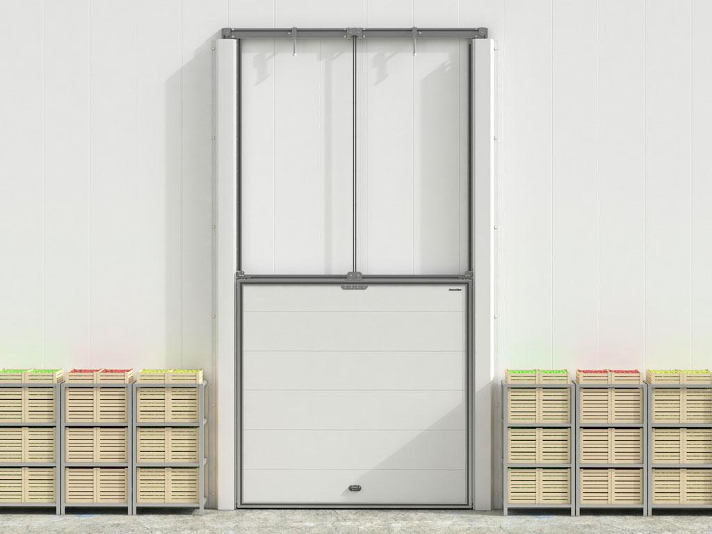 Вертикальный подъем позволяет экономить полезную площадь морозильных камер. ДорХан