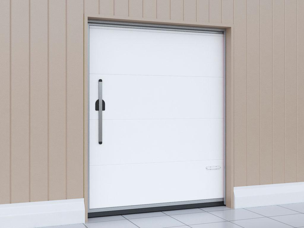 Внутренняя сторона двери откатной для охлаждаемых помещений Ljh{fy