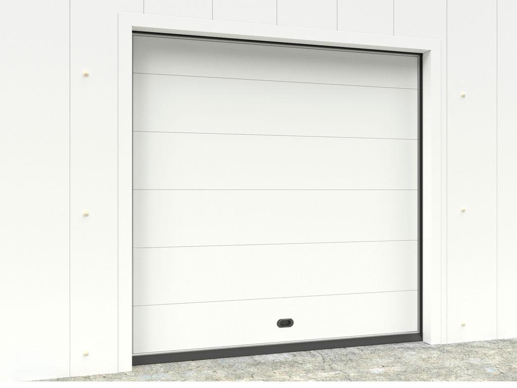 Дверь вертикально-подъемная для охлаждаемых помещений