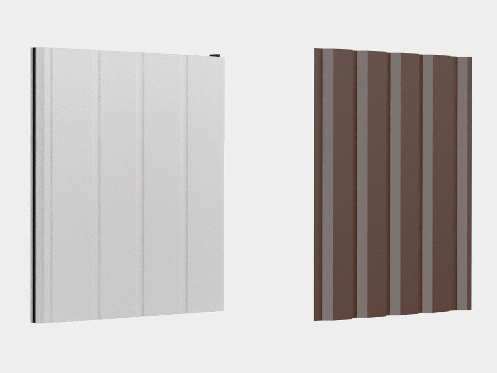 Выбор материала стен: из сэндвич-панелей (энергоэффективное решение) или профлиста (экономическое решение) ДорХан