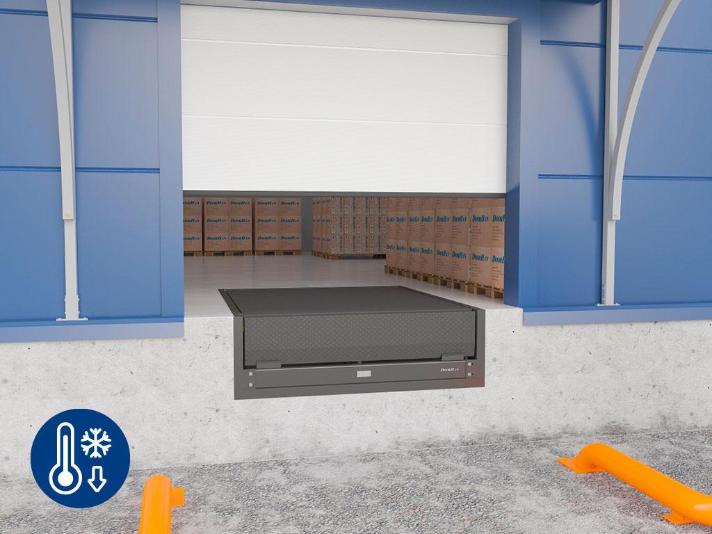 «Зимний пакет» включает в себя гидростанцию с подогревом. Позволяет использовать платформу при температурах до -30°. ДорХан