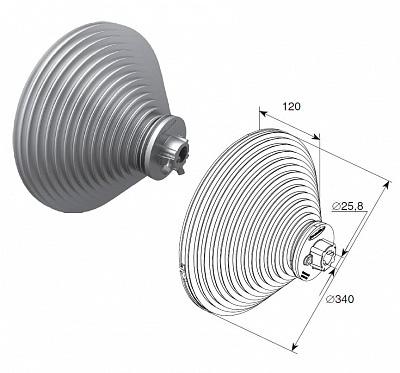БАРАБАН ДЛЯ ВЕРТИКАЛЬНОГО ПОДЪЕМА H=8560 мм ДорХан