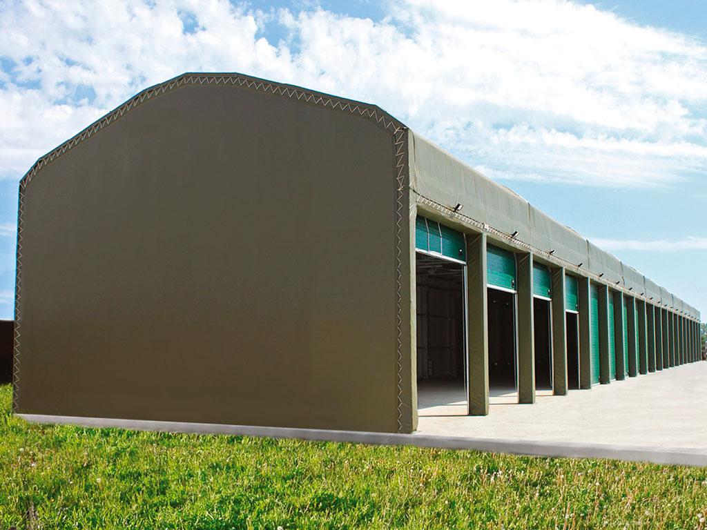 Каркасные здания, тенто-мобильные конструкции ДорХан