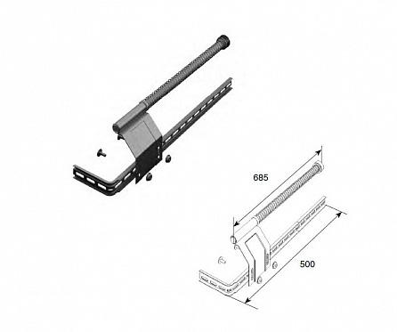 Комплект L/R пружинного амортизатора ДорХан