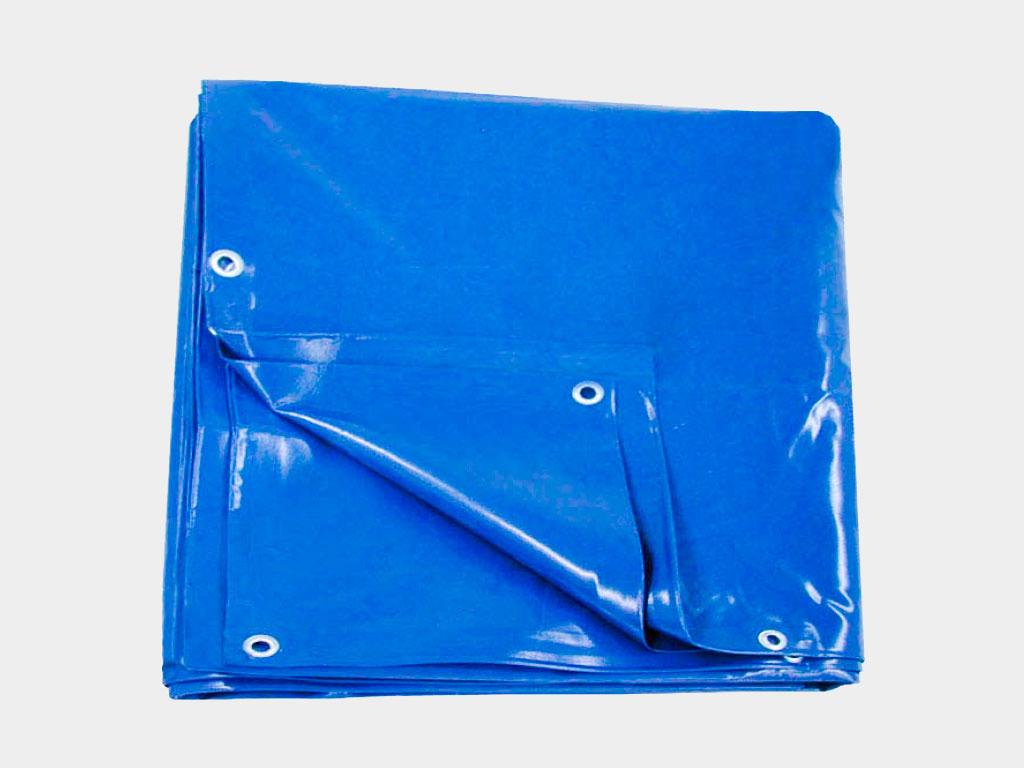 Комплект тентового покрытия. В базовой комплектации каркас укрытия защищен одним слоем наружного тента