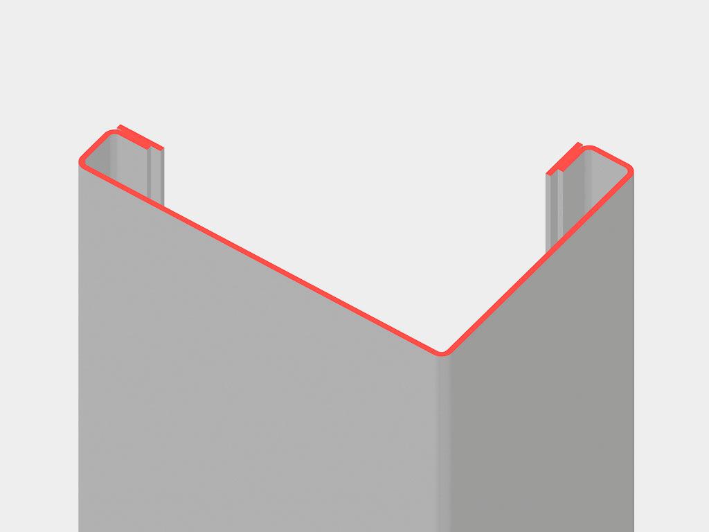 Конструкция угловых стоек позволяет возводить здания высотой до трех этажей. ДорХан