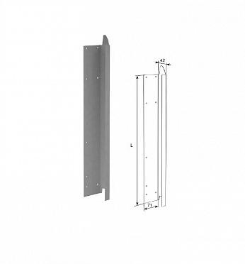 Крышка для панелей с ЗЗП с отверстиями для крепления ДорХан