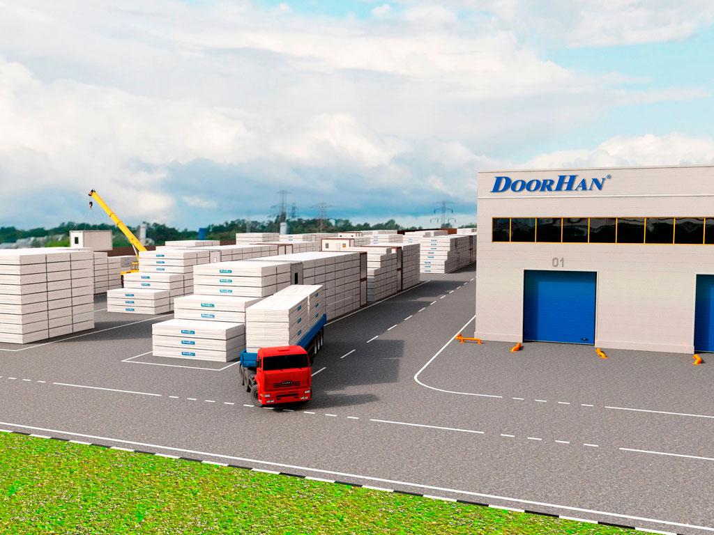 Минимальные сроки изготовления и поставки благодаря складским запасам и собственным заводам ДорХан