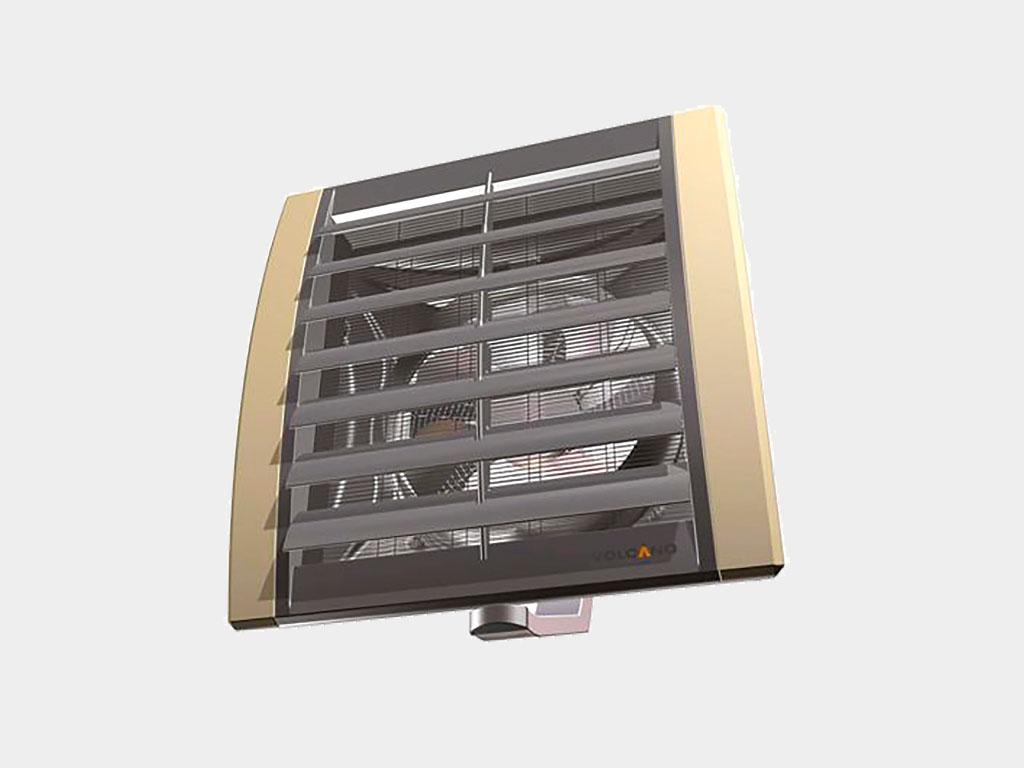 Отопление. Для отопления здания оптимально подходит система на базе тепловентиляторов, подключаемая к существующей системе водяного отопления. ДорХан