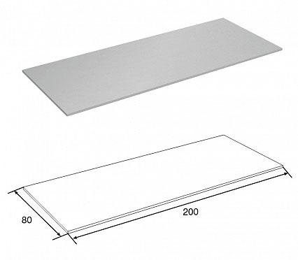 Пластина соединительная для удлинения угловой стойки ДорХан