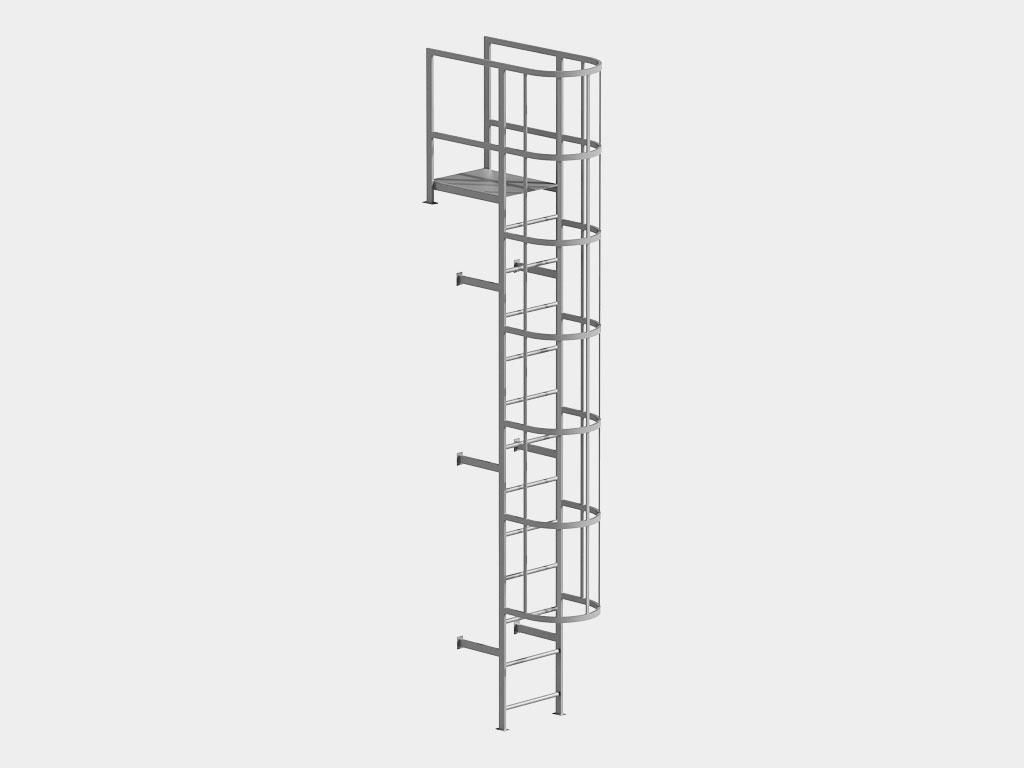Пожарные вертикальные лестницы ДорХан
