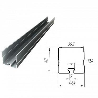 Профиль стальной верхний/нижний для гаражных секционных ворот ДорХан