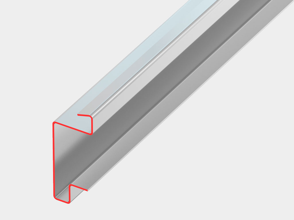Специальная конструкция профиля рамы обладает высокой несущей способностью. ДорХан
