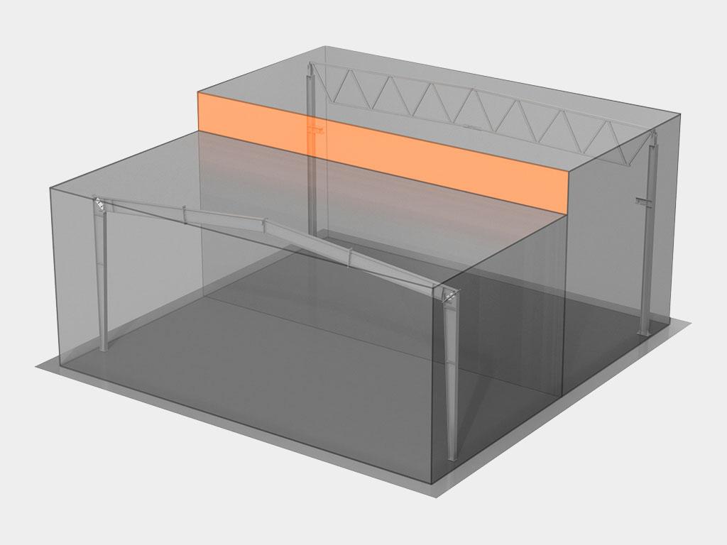 Уменьшение строительного объёма за счёт применения ригеля в виде двутаврового сечения со стенкой переменной высоты ДорХан