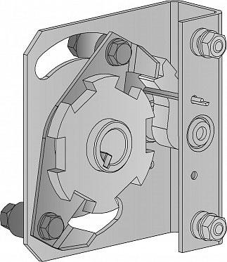 Устройство защиты от разрыва левой пружины Medium