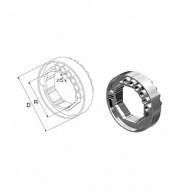 Кольцо ригельное RD40 ДорХан