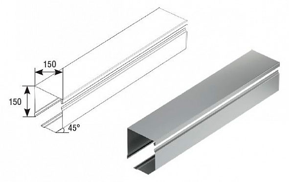 Короб защитный RB150