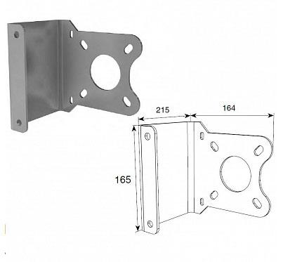 Кронштейн для крепления вального привода уменьшенный для выносного монтажа ДорХан