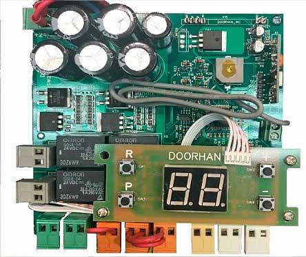 Плата управления PCB_SW_24/V.1.0-A с дисплеем ДорХан
