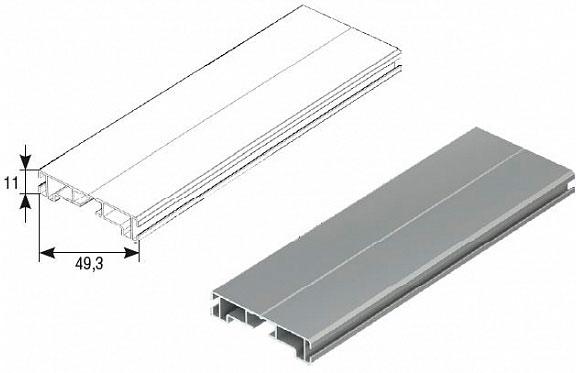 Профиль концевой RA50EM ДорХан