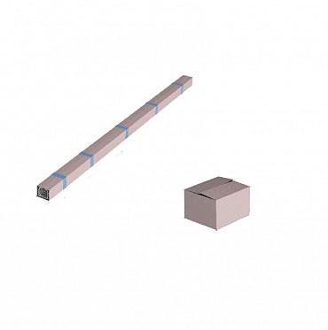 Система роликов и направляющих для балки х/к 71х60х3,5 L=6000мм ДорХан