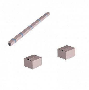 Система роликов и направляющих для балки х/к 95х88х5 L=7000мм ДорХан
